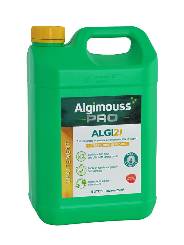 algicide Roof walls and facade